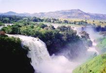 Voyage en Éthiopie, Nil Bleu